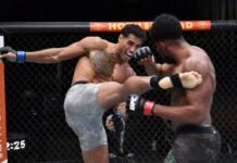 Carlos Ulberg and Kennedy Nzechukwu, UFC 259