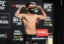 UFC 260 Vicente Luque