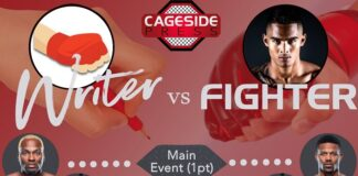 Writer vs. Fighter UFC Vegas 22