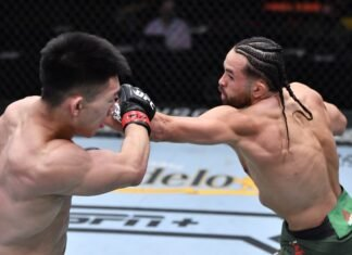 Song Yadong and Kyler Phillips, UFC 259