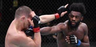 Petr Yan and Aljamain Sterling, UFC 259