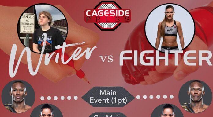 Writer vs Fighter UFC 259