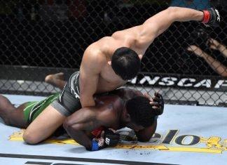 UFC Vegas 23 Da Un Jung William Knight