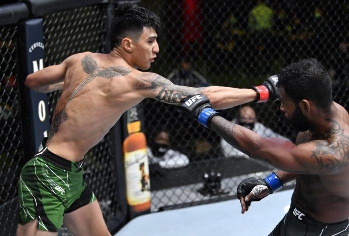 UFC Vegas 23 Luis Saldana Jordan Griffin