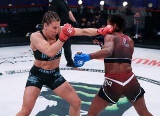 Julia Budd and Dayana Silva, Bellator MMA
