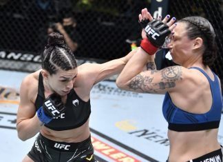 UFC Vegas 23 Mackenzie Dern Nina Nunes