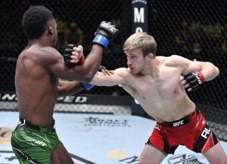 UFC Vegas 23 Arnold Allen Sodiq Yusuff