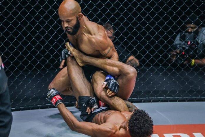 Demetrious Johnson and Adriano Moraes, ONE Championship