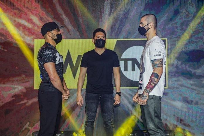 Eddie Alvarez and Iuri Lapicus, ONE on TNT 1