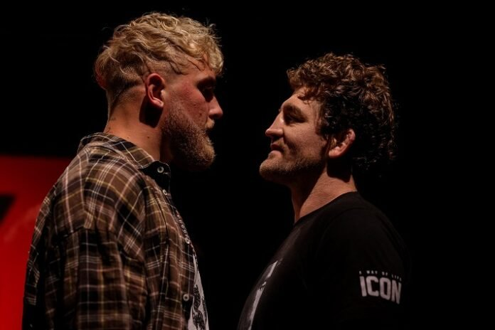 Ben Askren and Jake Paul