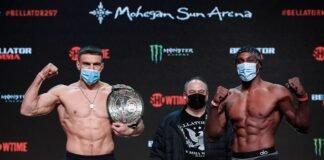 Bellator 257's Vadim Nemkov and Phil Davis