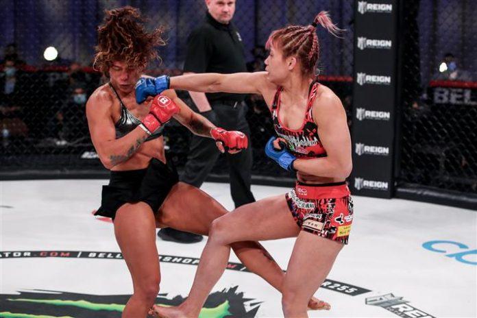 Kana Watanabe and Alejandra Lara, Bellator MMA