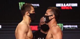 Usman Nurmagomedov and Mike Hamel, Bellator 255