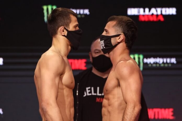 Usman Nurmagomedov and Mike Hamel, Bellator 255