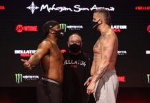 Tyrell Fortune and Jack May, Bellator 255