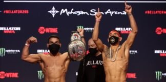 Patricio Pitbull and Emmanuel Sanchez, Bellator 255