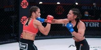 Vanessa Porto and Liz Carmouche, Bellator MMA