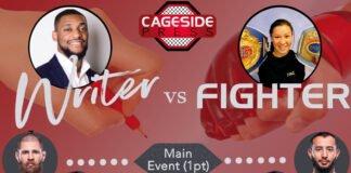 Writer vs. Fighter UFC Vegas 25