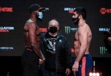 Corey Anderson and Dovletdzhan Yagshimuradov, Bellator 257
