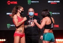 Liz Carmouche and Vanessa Porto, Bellator 256