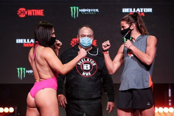 Cat Zingano and Olivia Parker, Bellator 256 face-off