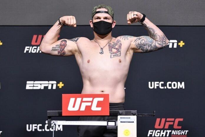 Chase Sherman UFC Vegas 24