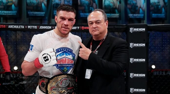 Vadim Nemkov and Scott Coker, Bellator 257
