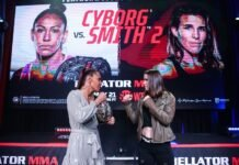 Cris Cyborg and Leslie Smith will throw down at Bellator 259