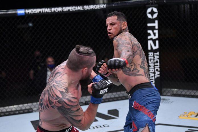 Nicolas Dalby and Daniel Rodriguez, UFC 255