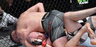 Gerald Meerschaert and Bartosz Fabinski, UFC Vegas 24