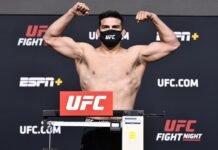 Kelvin Gastelum, UFC Vegas 24
