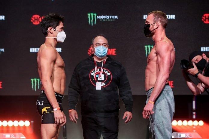Goiti Yamauchi and Dan Moret, Bellator 256