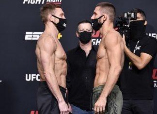 Scott Holtzman and Mateusz Gamrot, UFC Vegas 23