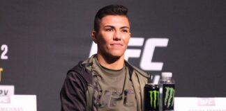 Jessica Andre UFC 261 press conference