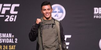 Jessica Andrade, UFC 261 press conference