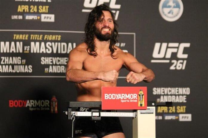 Jorge Masvidal UFC 261 weigh-in