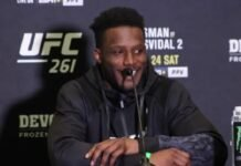 Karl Roberson, UFC 261 media day