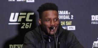 Karl Roberson, UFC 261 media day