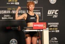 Na Liang UFC 261