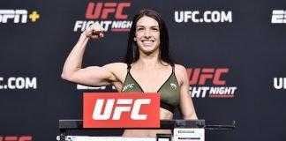 Mackenzie Dern, UFC Vegas 23 weigh-in