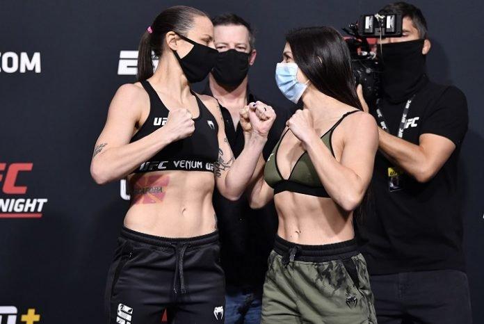 Nina Nunes and Mackenzie Dern, UFC Vegas 23