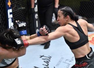 Lupita Godinez and Jessica Penne, UFC Vegas 24