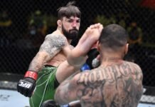 Mike Perry and Daniel Rodriguez, UFC Vegas 23