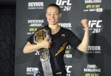 Rose Namajunas UFC