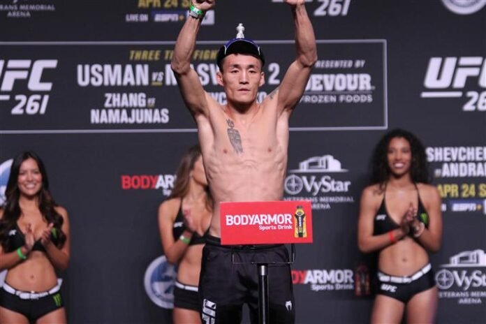 Qileng Aori UFC 261