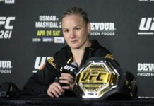 Valentina Shevchenko, UFC 261