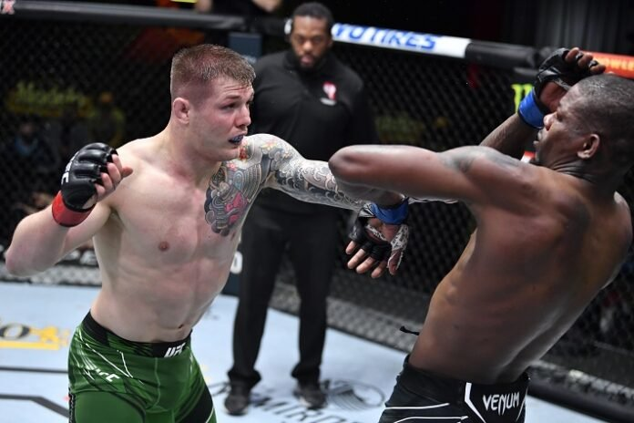 Marvin Vettori and Kevin Holland, UFC Vegas 23