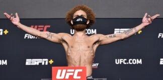 Luis Pena aka Violent Bob Ross UFC Vegas 24