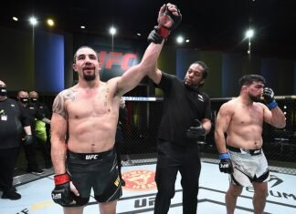 Robert Whittaker and Kelvin Gastelum, UFC Vegas 24