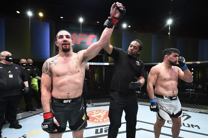 Robert Whittaker and Kelvin Gastelum, UFC Vegas 24